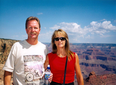 Monte and Diane at the Grand Canyon